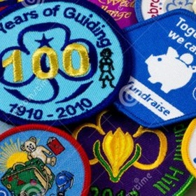 Make a camp blanket with all my guiding badges - Bucket List Ideas