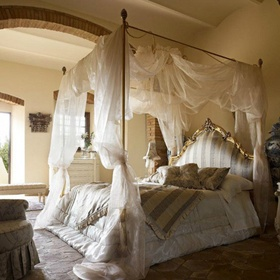 Have a canopy bed - Bucket List Ideas