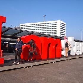 Take a photo with all three I Amsterdam signs lol - Bucket List Ideas