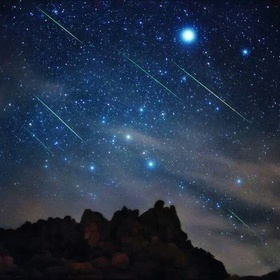 See a rain of Stars - Bucket List Ideas