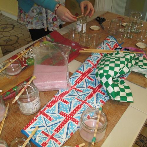 Make candles from melting wax - Bucket List Ideas