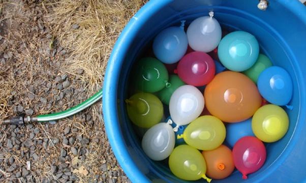 Have a water balloon fight - Bucket List Ideas