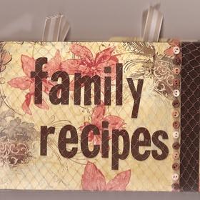 Create a family recipe book - Bucket List Ideas