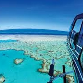 Take a scenic flight over the Great Barrier Reef - Bucket List Ideas