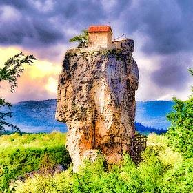 Visit The Katskhi Pillar in Georgia - Bucket List Ideas