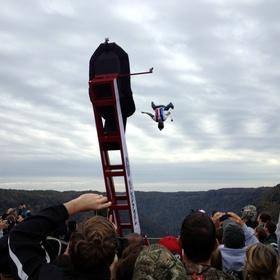Base Jump in West Virginia (sling shot) - Bucket List Ideas