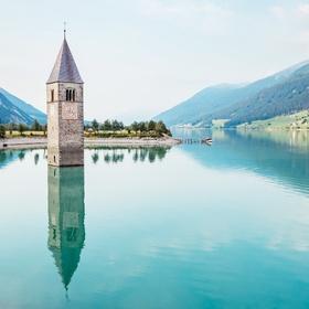 Visit Reschensee, Italy - Bucket List Ideas