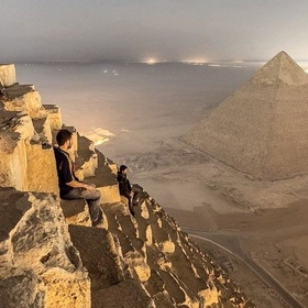 Touch (Climb?) the Stones of the Great Pyramids of Egypt - Bucket List Ideas
