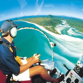 Take a helicopter tour over the Whitsundays - Bucket List Ideas