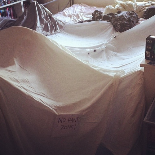 Build a blanket fort with someone i love - Bucket List Ideas