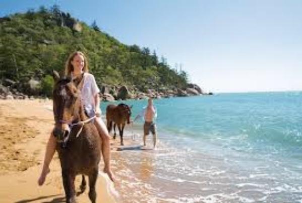 Gallop a horse along a beach - Bucket List Ideas