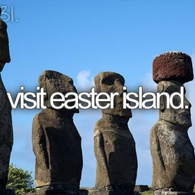 Visit the statues of easter island, chile - Bucket List Ideas