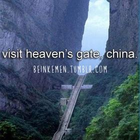 Visit heaven's gate in china - Bucket List Ideas