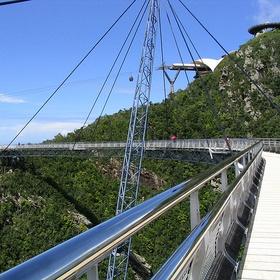 Bridge at summit, Langkawi - Bucket List Ideas