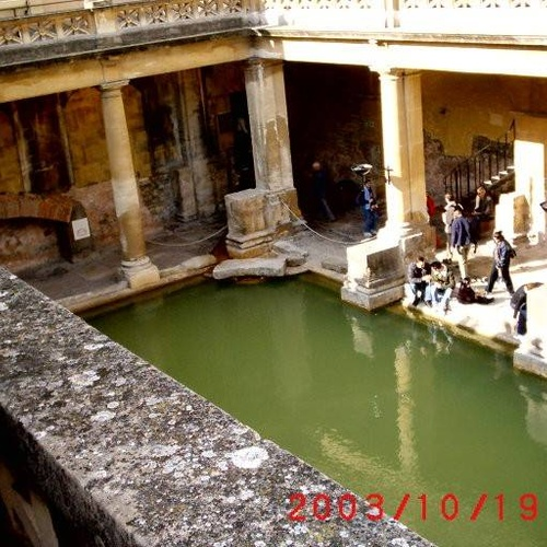 Visit Bath in the UK and drink Bath water - Bucket List Ideas