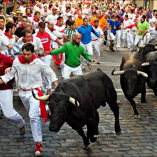 Run with the bulls - Bucket List Ideas