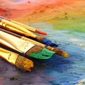 Make A Painting With Oil Paint (First Time) - Bucket List Ideas