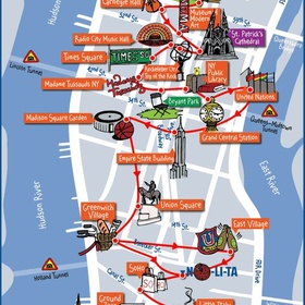 Complete the NY map - Bucket List Ideas