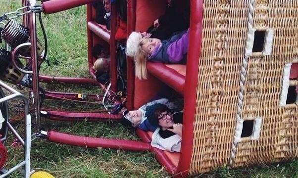 Go on a hot air balloon ride - Bucket List Ideas