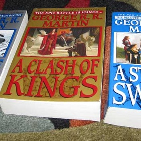 Read the whole A song of Ice and Fire saga - Bucket List Ideas