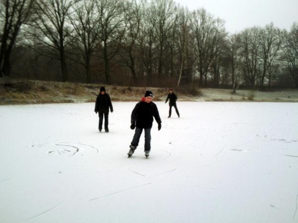 Go ice skating on a frozen lake - Bucket List Ideas