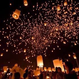 Experience Loy Krathong - Bucket List Ideas