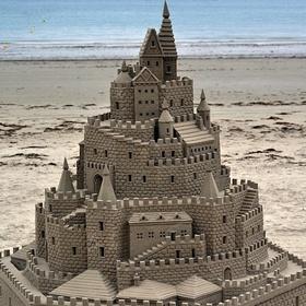 Build an AWESOME sand castle - Bucket List Ideas