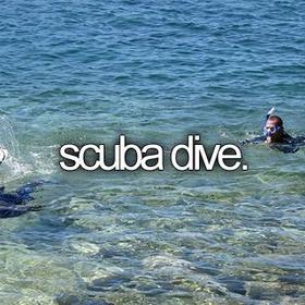 Scuba dive - Bucket List Ideas