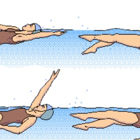 Learn to swim on my back - Bucket List Ideas