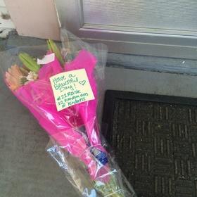 Leave Flowers on Someone's Doorstep - Bucket List Ideas