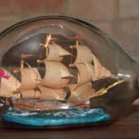 Build a ship in a bottle - Bucket List Ideas