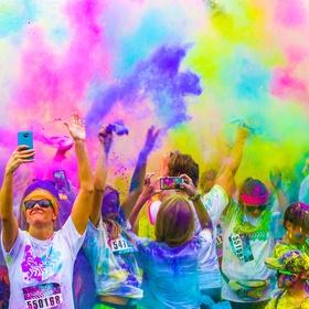Participate in the color run - Bucket List Ideas