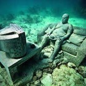 Snorkel the underwater museum - Bucket List Ideas
