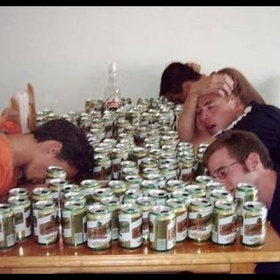 Do a marathon monday drinking challenge - Bucket List Ideas