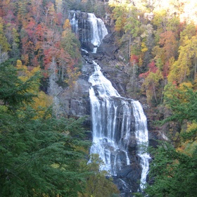Go see the Whitewater Falls in North Carolina - Bucket List Ideas