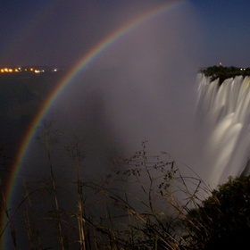See a lunar rainbow over Victoria falls- - Bucket List Ideas
