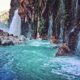 Stand under/behind a waterfall - Bucket List Ideas