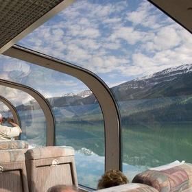 Ride a glass ceiling train - Bucket List Ideas
