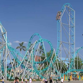 Take a Ride on California's First and Only Dive Roller Coaster - Bucket List Ideas