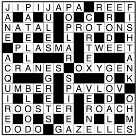 Finish a crossword puzzle - Bucket List Ideas
