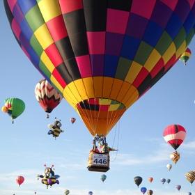 Ride In A Hot Air Ballon - Bucket List Ideas