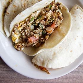 Try a Breakfast Taco from Juan in a Million - Bucket List Ideas
