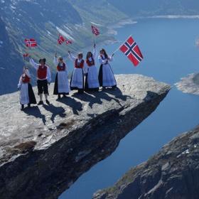 Hike up to Trolltunga rock in Norway - Bucket List Ideas
