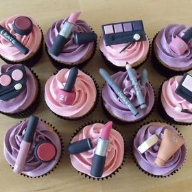 Bake makeup cupcakes - Bucket List Ideas