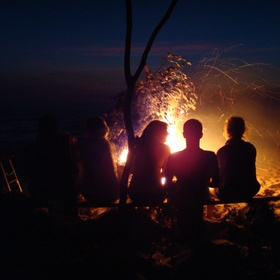 Beach Bonfire - Bucket List Ideas
