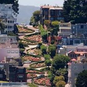 Drive down Lombard Street, San Francisco - Bucket List Ideas