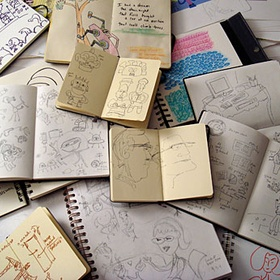 Fill a sketchbook - Bucket List Ideas