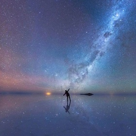 Literally Reflect at Salar de Uyuni in Bolivia - Bucket List Ideas