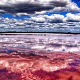 Stick my Toes in Lake Retba,Senegal - Bucket List Ideas
