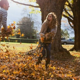 Play in the Leaves with My Love - Bucket List Ideas